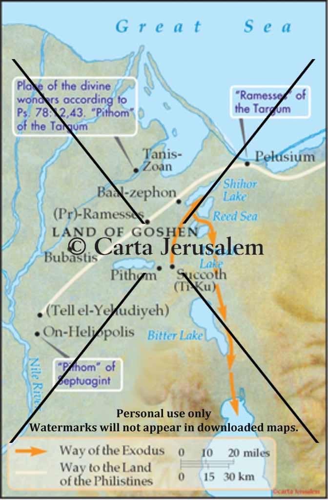 Egypt Of The Exodus Biblewhere